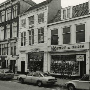 Stuut & Bruin, elektronicawinkel, Prinsegracht, 1979