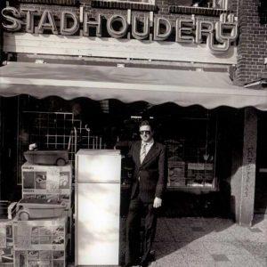 Ton Stadhouder, elektronicawinkel, Thomsonplein, jaren 70