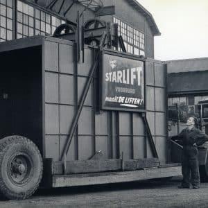 Starlift, transport liftkooi, Westvlietweg, Leidschendam