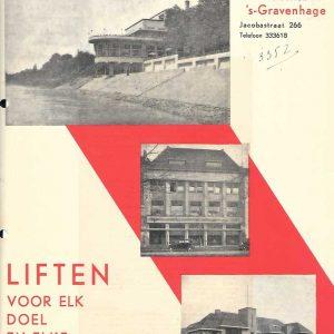 J.C. van Straaten, liften, Jacobastraat 266, jaren 30