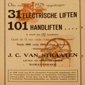 J.C. van Straaten, Jacobastraat 266, 1929