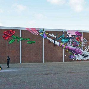 Van Weers, bedrijfshal, Binckhorstlaan, 2020