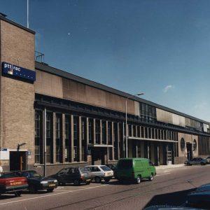 RAC werkplaats, 1e van der Kunstraat, ca. 1990