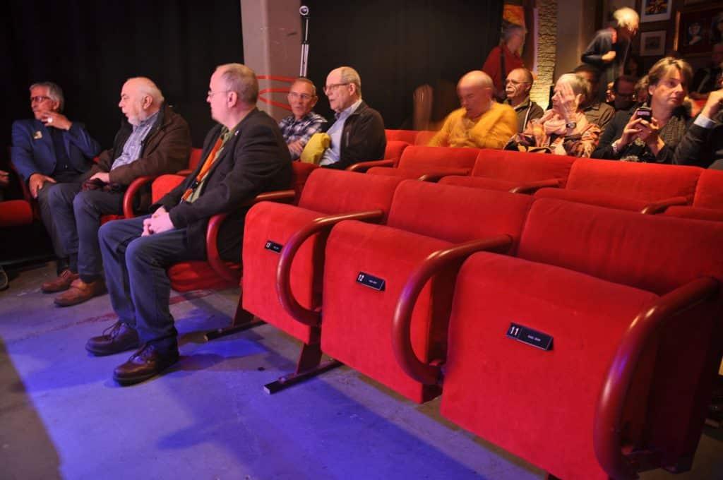 De Pianinozaal in afwachting van de presentatie van Haagvaarder 97